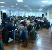 un taller en CIVSEM con 200 personas, una pasada
